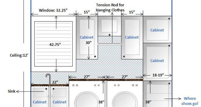 Laundry Room Design Layout Our Mud