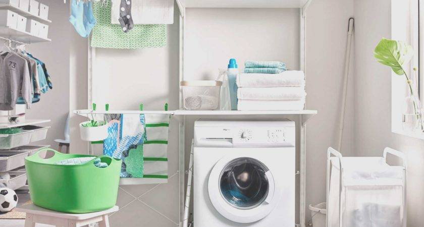 Laundry Room Ideas Small Stackable Closet Unique