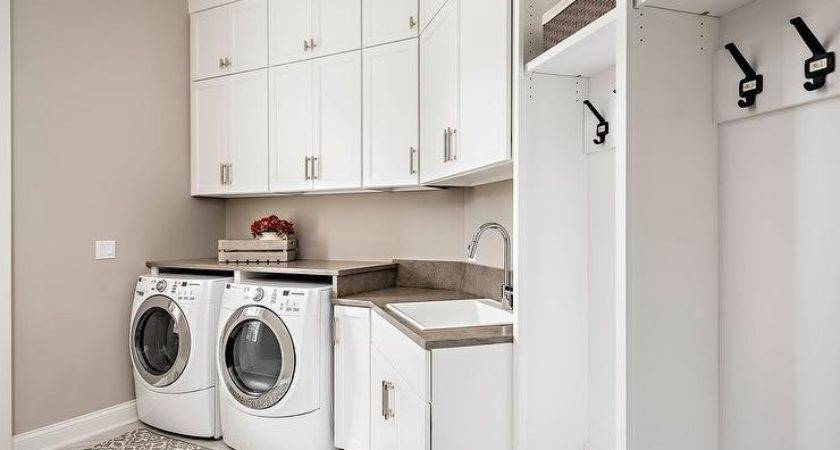 Laundry Room Mudroom Traditional Bob