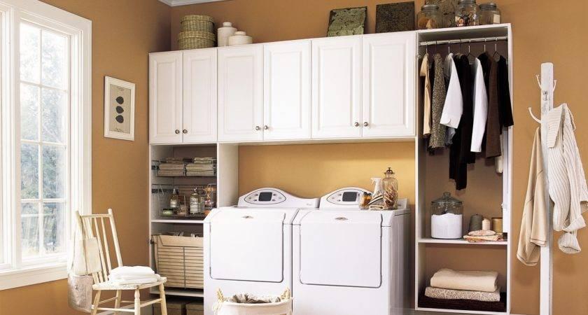Laundry Room Storage Organization Inspiration