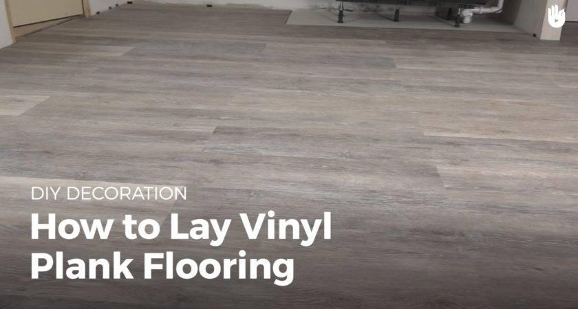 Lay Vinyl Flooring Diy Projects Youtube