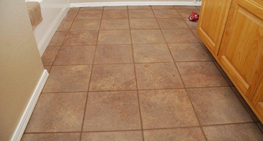 Laying Bathroom Floor Tiles Install