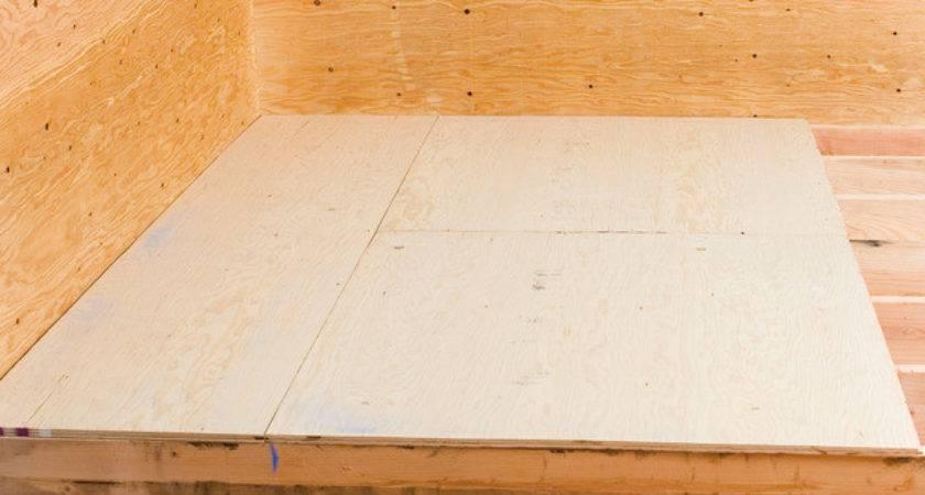 Laying Plywood Subfloor Home Improvement Diy Network