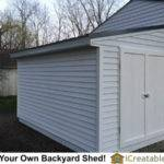 Lean Shed Attached Garage Icreatables