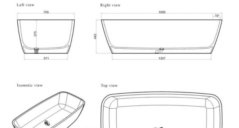 Length Standard Bathtub