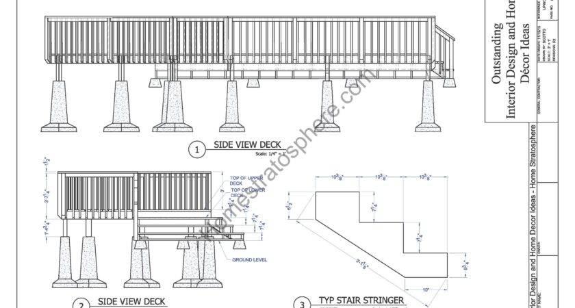Level Deck Plan Blueprint Pdf