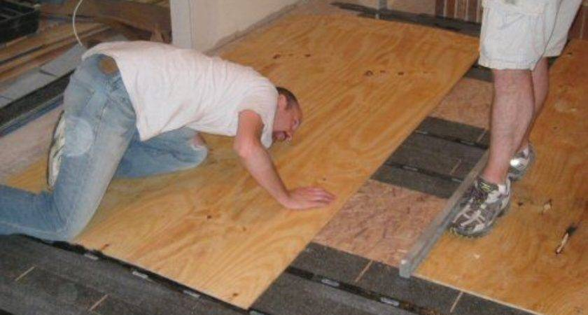 How To Level Plywood Subfloor For Laminate Ideas Photo Gallery
