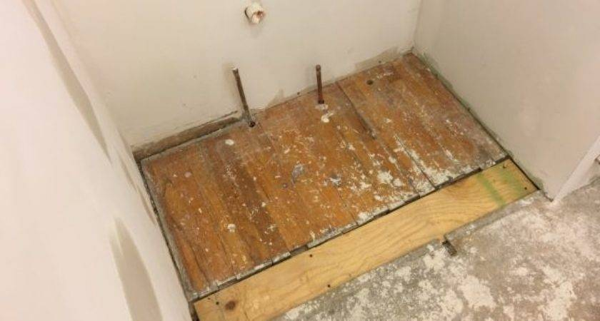 Leveling Subfloor Bathroom