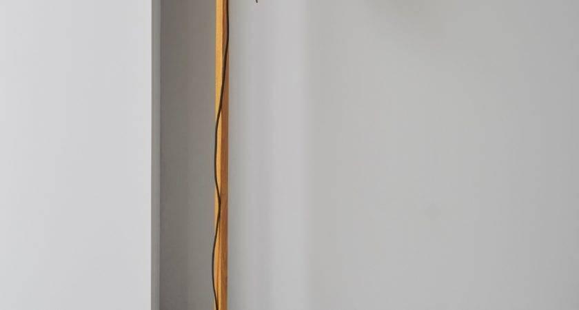 Liber Black Wood Effect Floor Lamp Departments Diy