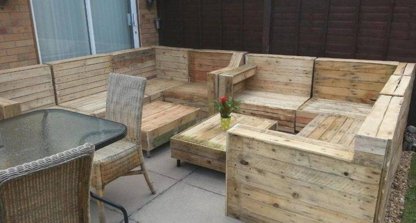 Life Death Patio Furniture Made Out Wooden