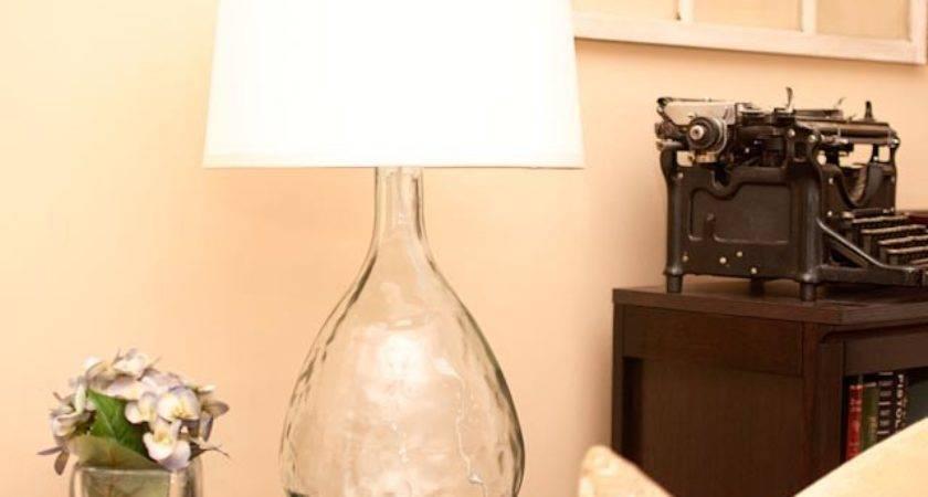 Life Middle Lane Turning Glass Vase Into Lamp