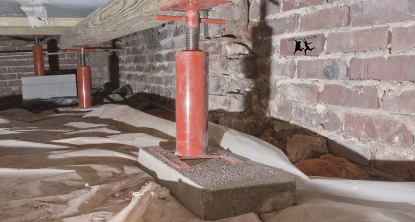 Lifting Sagging Floor Diy Old House Crazy