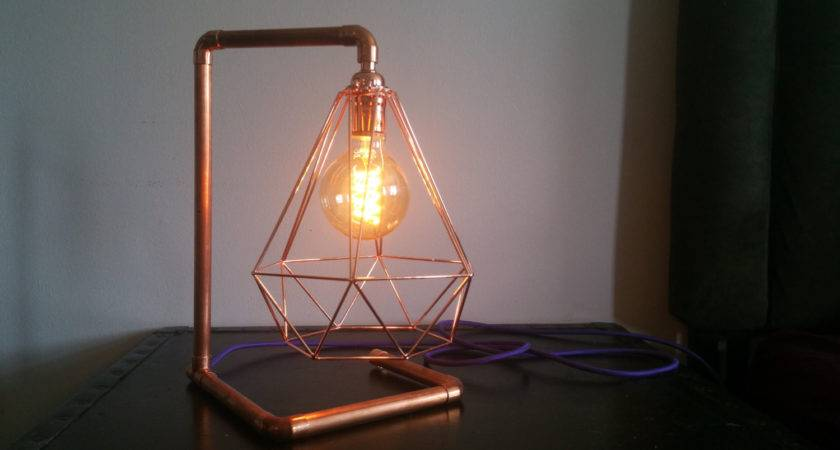 Lighting Industrial Floor Lamp Trendy Copper