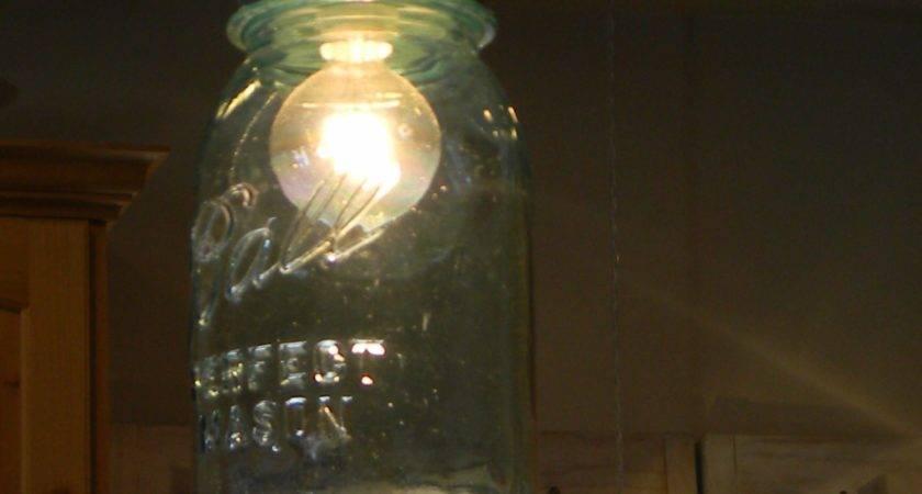 Lighting Lexington Mason Jar Pendant Lights Set