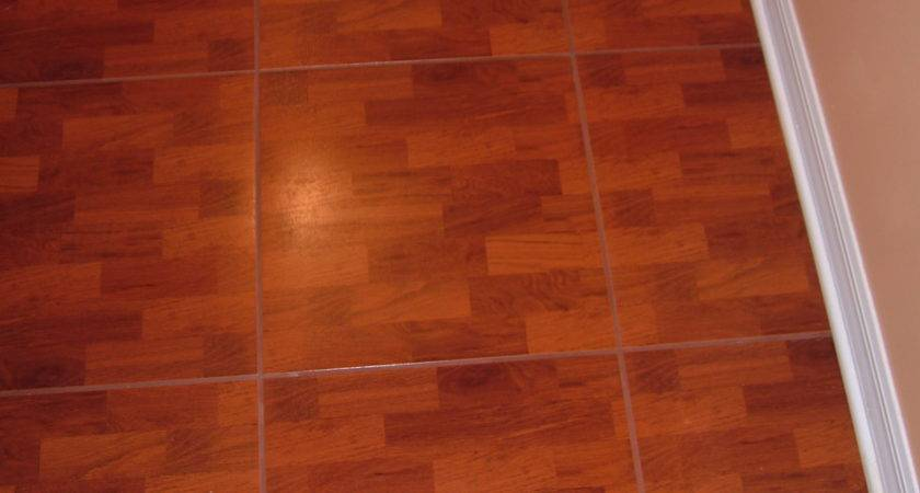 Linoleum Faux Wood Flooring Floor Laminate