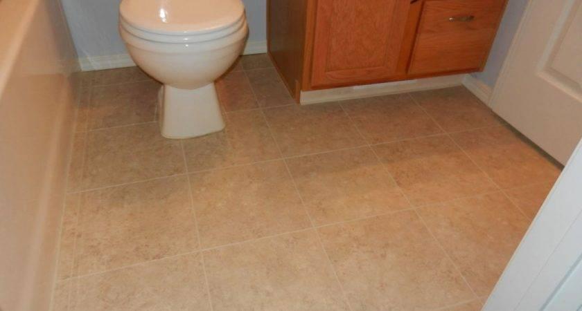 Linoleum Floor Tiles Bathroom Delightful