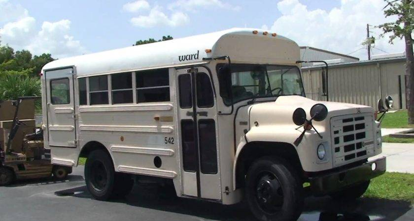 Little Ward Short School Bus Wheelchair Lift Youtube