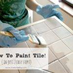 Livelovediy Paint Tile Countertops