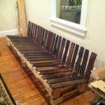 Living Room Black Wood Pallet Sofa Tables Made