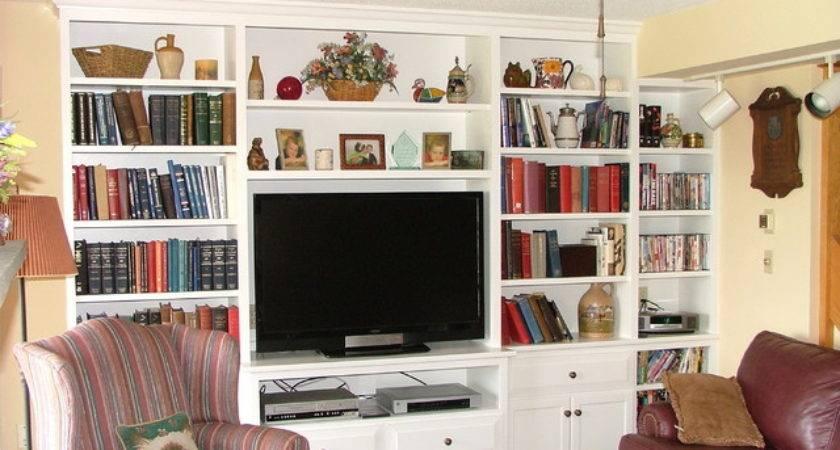 Living Room Built Storage Ins
