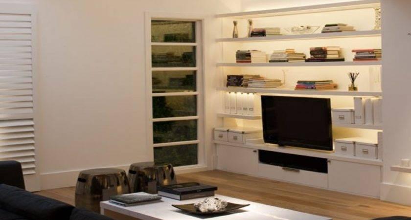 Living Room Built Storage