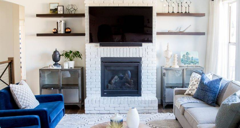 Living Room Fireplace Warm All