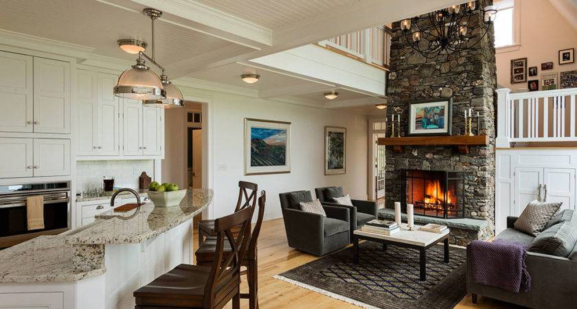 Living Room Kitchen Design Modern Open Ideas Small