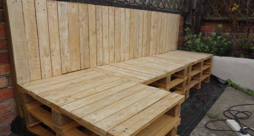 Living Room Natural Wood Pallet Sofa Furniture