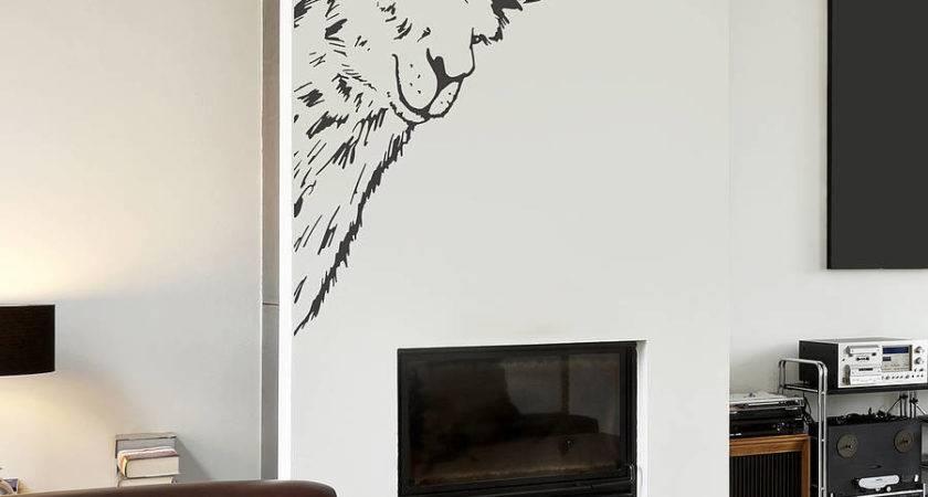 Llama Vinyl Wall Sticker Oakdene Designs