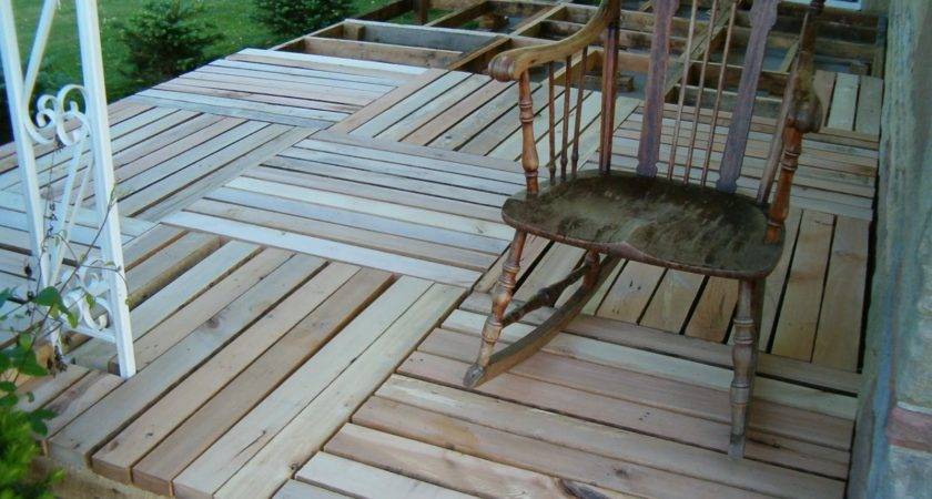Lloyd Blog Porch Made Pallet Wood