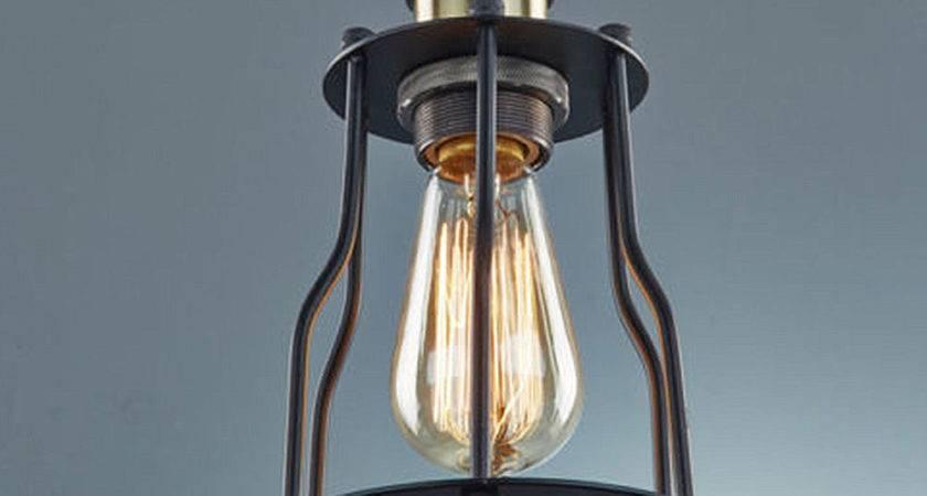 Loft Edison Ceiling Lamp Pendant Light Black Wire Bird