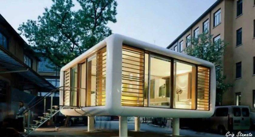 Loftcube Smart Small Modular Home Design Youtube