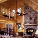 Log Cabin Homes Inside Out Field
