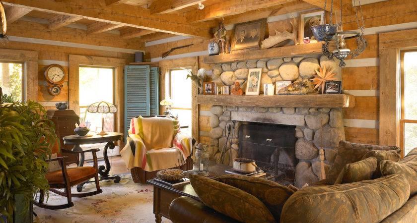 Log Cabin Interior Joy Studio Design