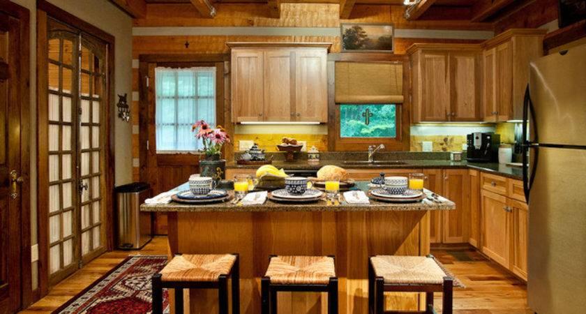 Log Cabin Kitchen Rustic Nashville