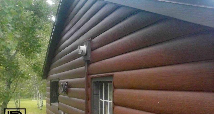Log Cabin Look Strength Steel Siding Lynnrich