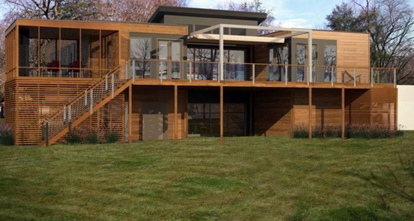 Log Cabin Park Model Living Breezehouse Blu Homes Two