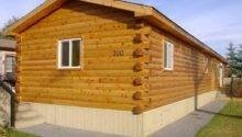 Log Cabin Siding Manufactured Home Joy Studio Design
