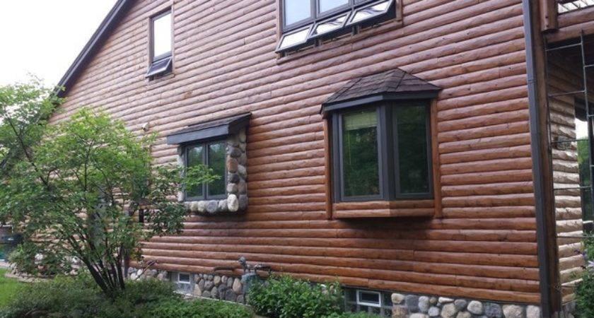 Log Cabin Siding Rustic Exterior Detroit