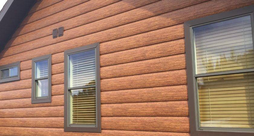 Log Cabin Vinyl Siding Home Decor Takcop