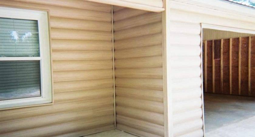 Log Cabin Vinyl Siding Photos