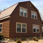 Log Cabin Vinyl Siding Striking Exterior Home Design