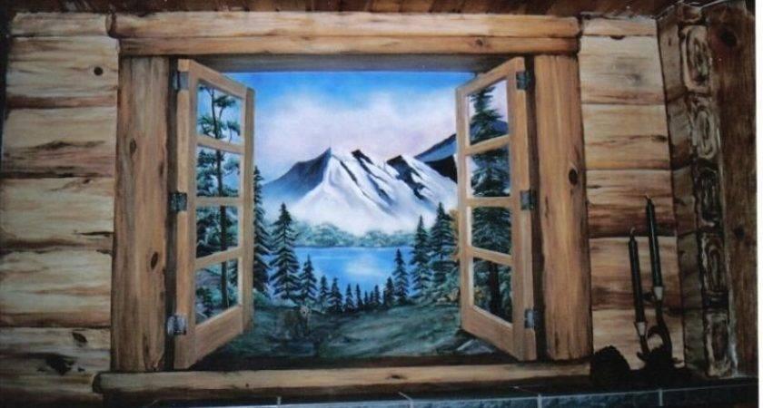 Log Cabins Window Frames Gave