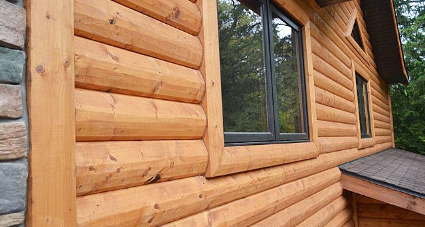 Log Cedar Wood Siding Enterprise Products
