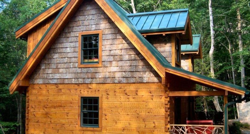 Log Home Exterior Custom Timber Homes