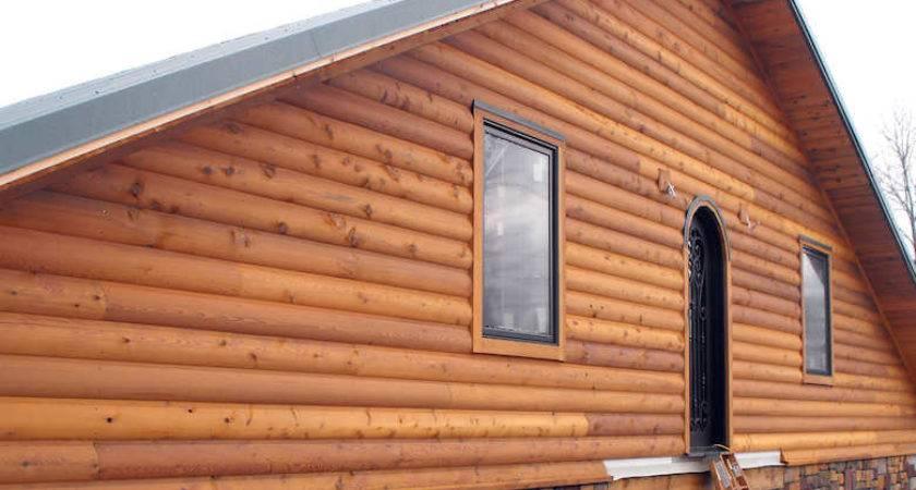 Log House Siding Cost Home Design Mannahatta