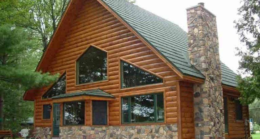 Log Look Vinyl Siding Photos Larger