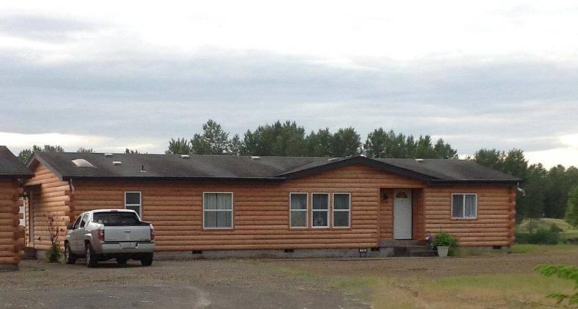 Log Sided Mobile Homes Cavareno Home Improvment