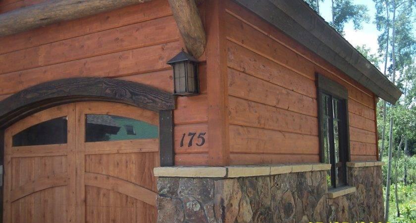 Log Siding Action Homes