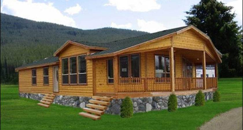 Log Siding Mobile Homes Allaboutyouth